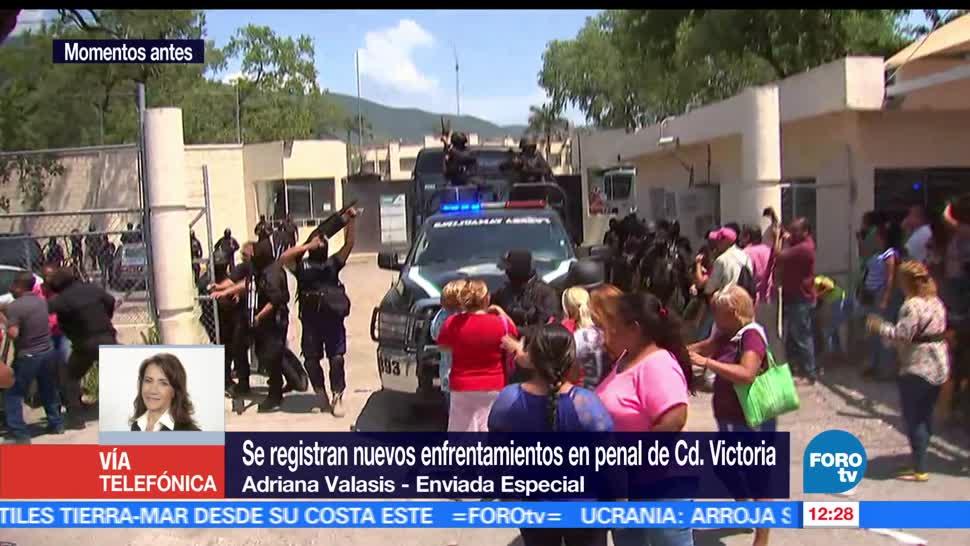 Familiares protestan, penal de Ciudad Victoria, traslado de reos, disturbios desatados