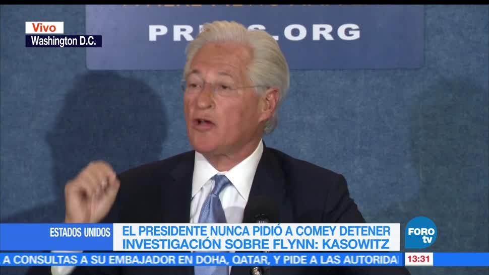 noticias, forotv, Trump, Comey, investigar a Flynn, abogado