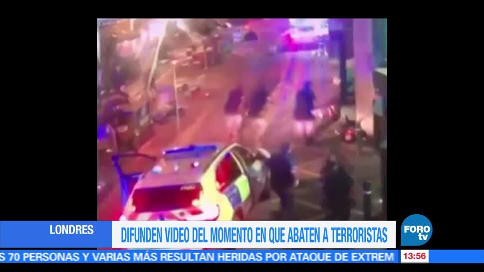noticias, forotv, Video, policías, mataron, terroristas en Londres
