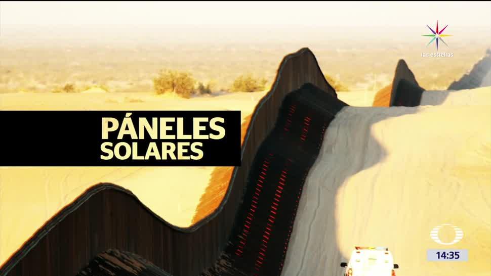 noticias, televisa, Trump, propone, muro, paneles solares