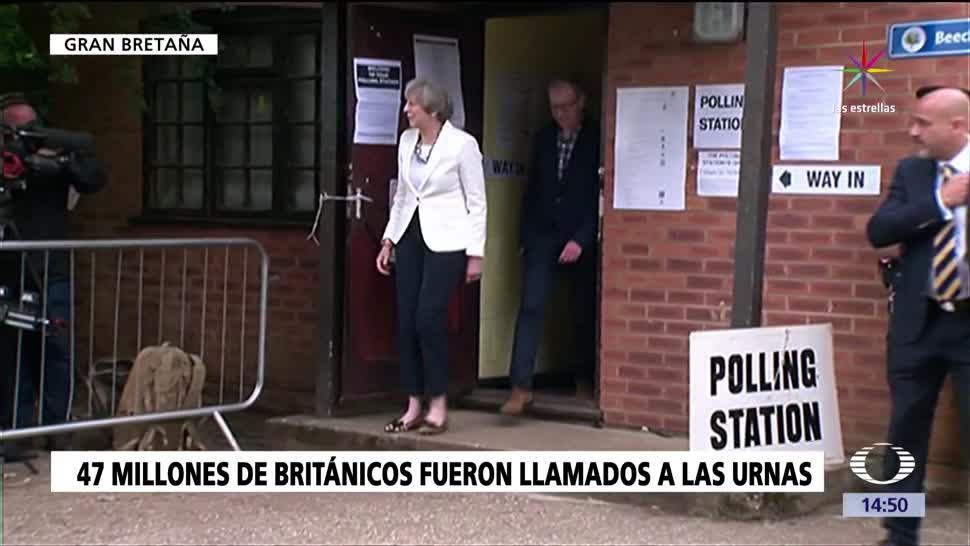 noticias, forotv, 47 millones, británicos, convocados, urnas
