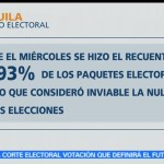 IEC, rechaza, violación, paquetes electorales, corrupción, votaciones