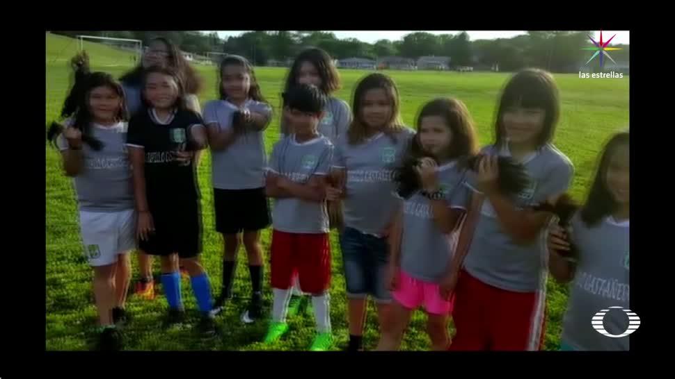 Discriminan, niña, futbolista, cabello corto, racismo, futbol
