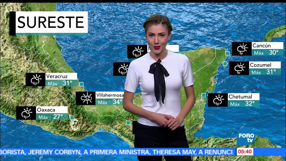 El clima, Daniela Álvarez, viernes, frente frío