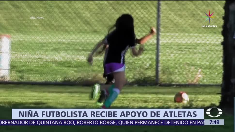 Discriminan, Mili Hernández, niña., juega futbol