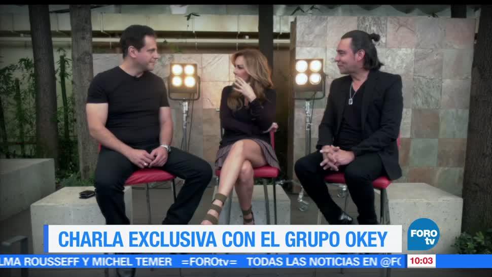 entrevista, grupo, Okey, exclusiva