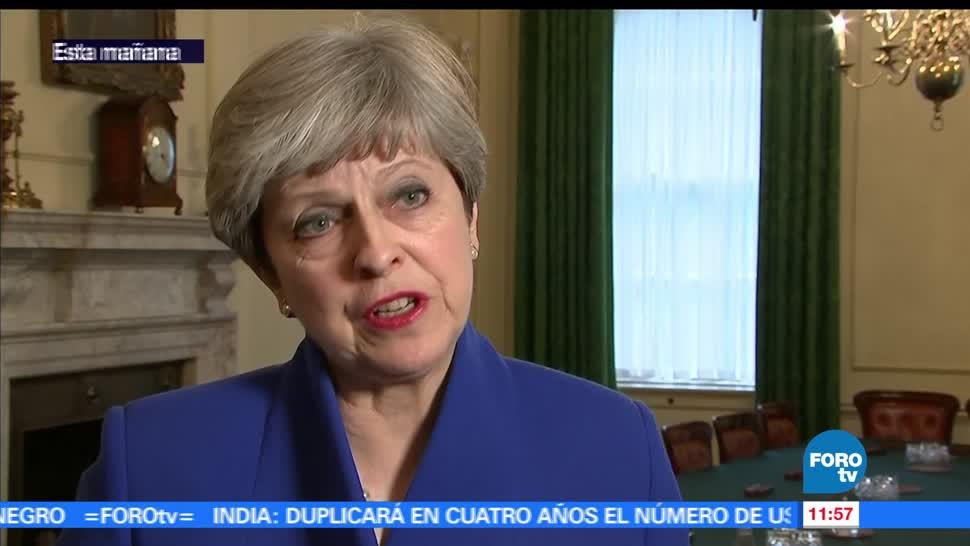 primera ministra británica, Theresa May, certeza, británicos