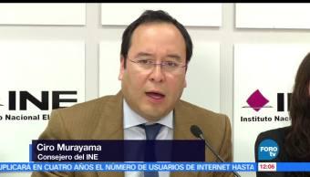 Acusaciones, fraude son falsas, Ciro Murayama, consejero electoral del INE