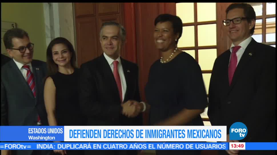noticias, forotv, Miguel Ángel Mancera, reúne, alcaldesa, Washington D.C.