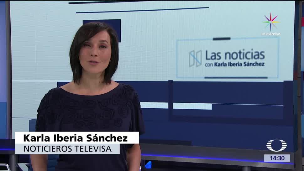 noticias, forotv, Las noticias, con Karla Iberia, Programa, 9 de junio 2017