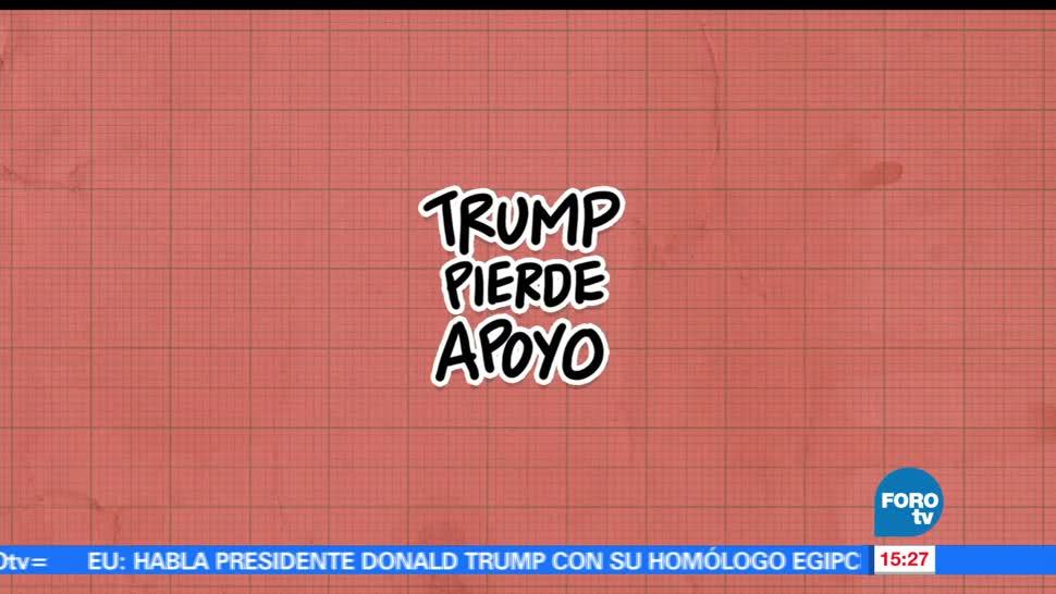 noticias, forotv, El ABC, popularidad, Trump, popularidad de Donald Trump