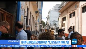 Trump, hará, anuncios, Cuba, politica, Estados Unidos