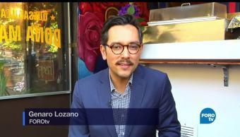 Genaro, Lozano, entrevista, Diego Goméz Pickering, Foro Dreamers, comunidad mexica EU