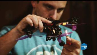 como, eladora, dron, Jaime Capelo, drones, elaboración