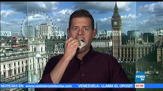 Escritor, se come, su libro, resultado, electoral, Reino Unido