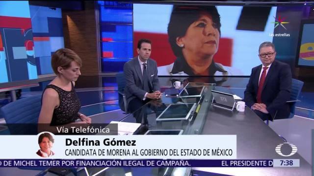 Delfina Gómez, candidata de Morena, Edomex, Tribunal Electoral, elección de gobernador