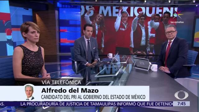 Alfredo del Mazo, candidato del PRI, Edomex, elección para gobernador, Proceso electoral