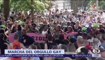 Miles de personas, 50 ciudades, Estados Unidos, derechos, homosexuales