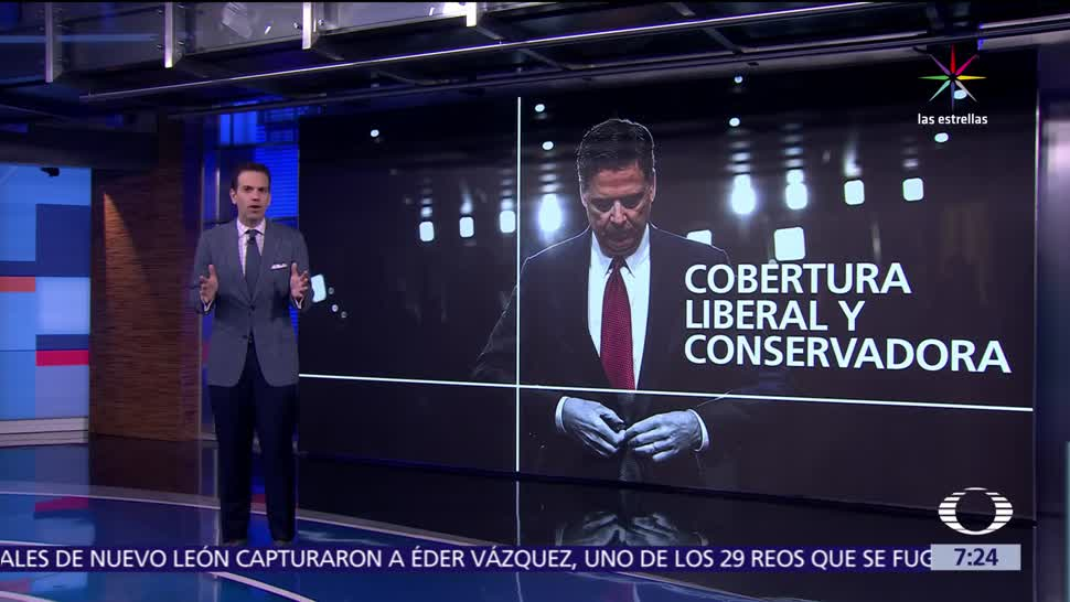 CNN, FOX News, análisis, audiencia de James Comey, FBI, Senado