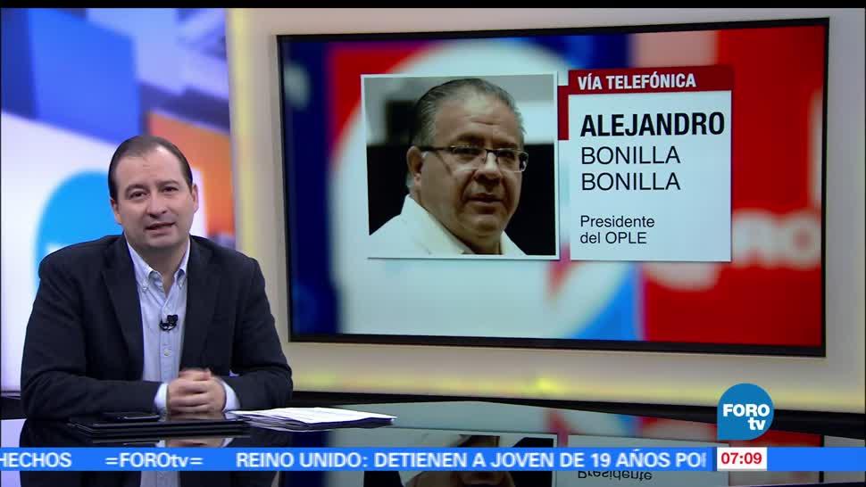 Alejandro Bonilla Bonilla, Organismo Público Local Electoral, Veracruz, jornada electoral