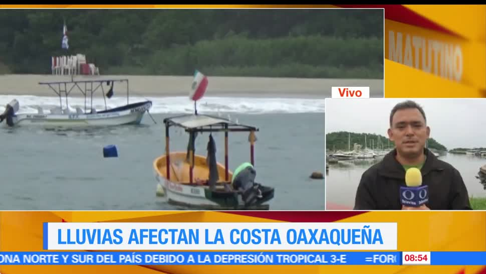 tormenta tropical 3-E, 75 kilómetros, Salina Cruz, Oaxaca, tierra