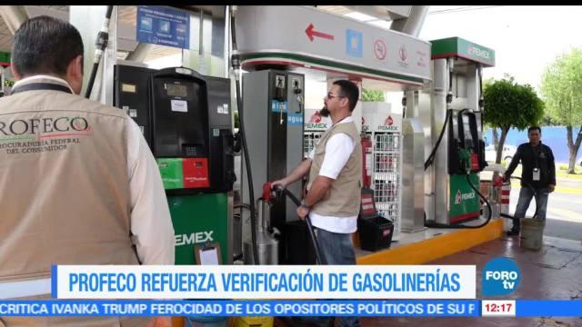 Profeco, verificación de gasolineras, litros completos, mercado de combustibles