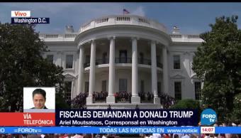 Ariel Moutsatsos, corresponsal en Washington, Donald Trump, gabinete