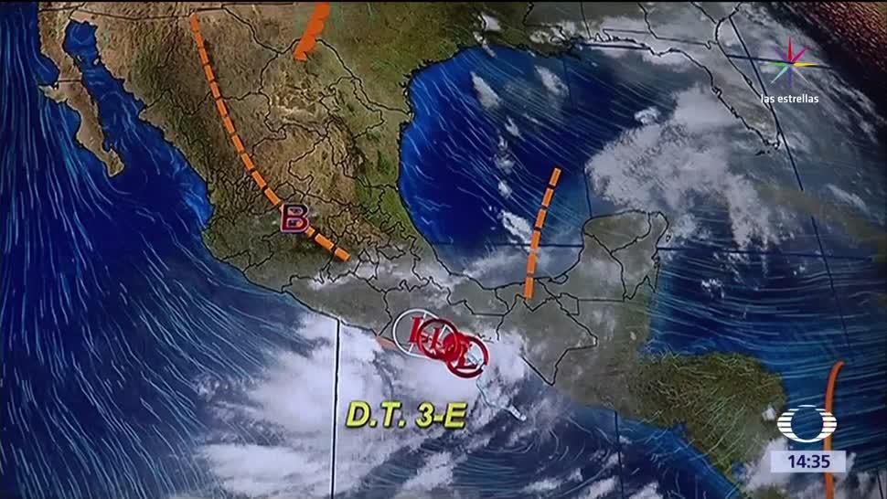 Alerta, depresión tropical, Oaxaca