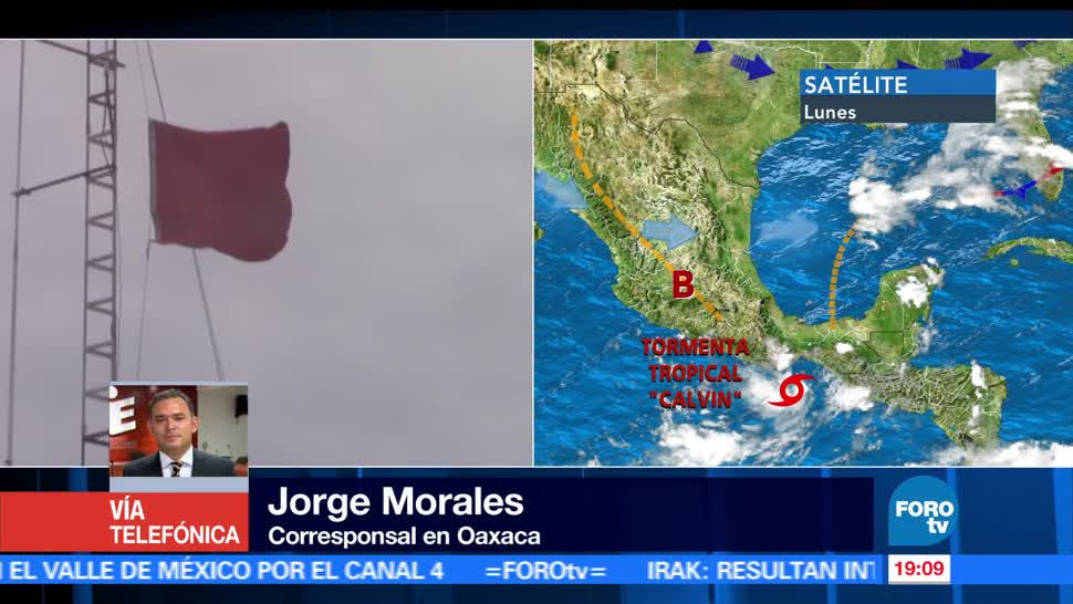 noticias, forotv, registran, lluvias torrenciales, costas, Oaxaca