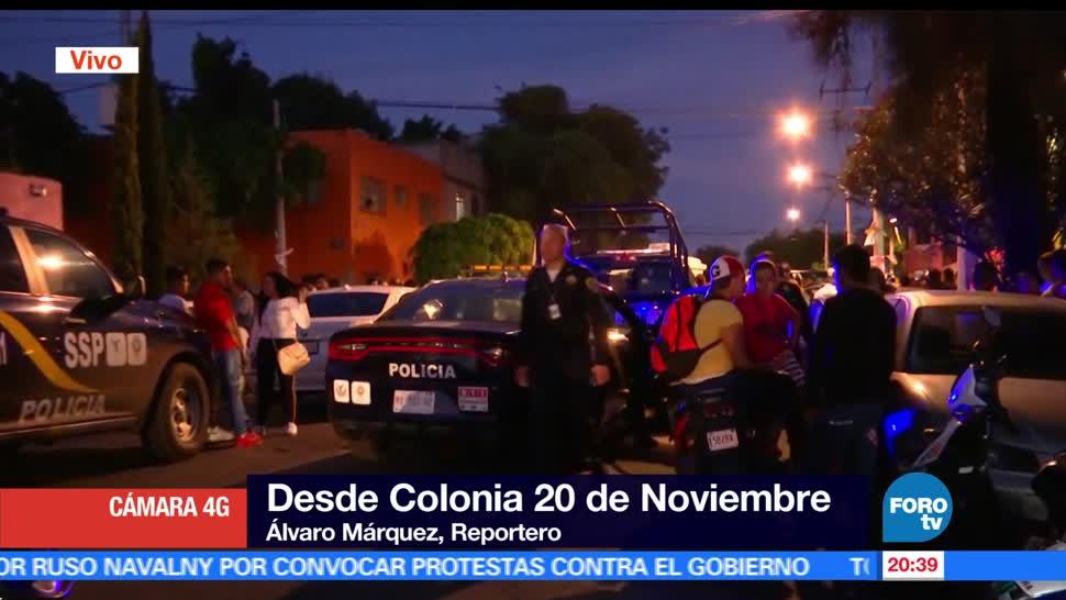 noticias, forotv, movilización, policiaca, delegación, Venustiano Carranza