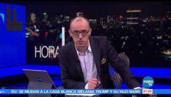 noticias, forotv, Hora 21, Programa, 12 de junio de 2017, Julio Patán