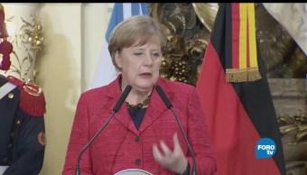 noticias, forotv, Alemania, Angela Merkel, nuevos aliados, Peña Nieto