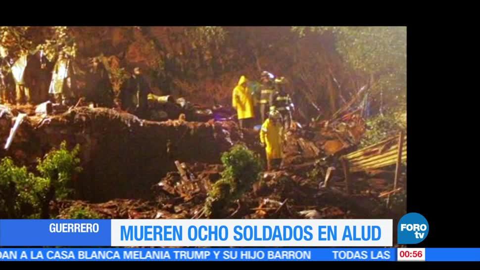 noticias, forotv, Localizan, últimos cuerpos, militares desaparecidos, alud en Guerrero