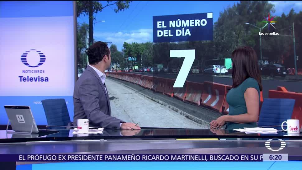 juez falla, suspender la construcción, Línea 7 del Metrobús, Paseo de la Reforma