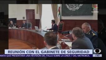 Enrique Peña Nieto, Los Pinos, miembros de su gabinete, seguridad