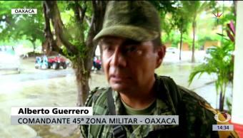 Desalojan, comunidades, Oaxaca, Calvin