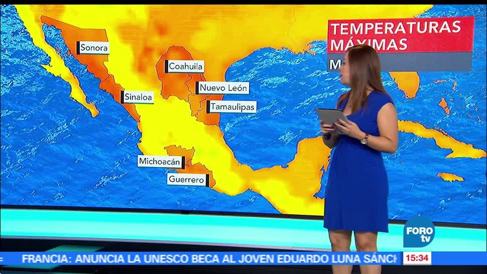 El clima, raquel mendez, tormenta tropical Calvin, Tiempo al tiempo