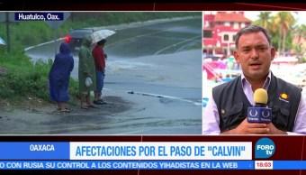 Seguirán suspendidas, clases, Oaxaca, lluvias