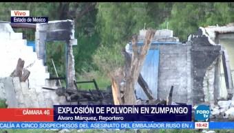 Saldo blanco, explosión, polvorín, Zumpango