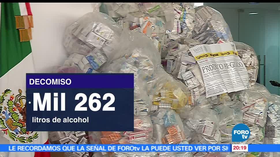 noticias, forotv, Decomisan, fármacos, ilegales, Jalisco