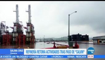 noticias, forotv, Refinería, retoma actividades, Calvin, Oaxaca