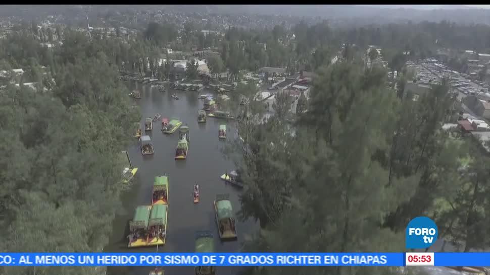 canales de Xochimilco, Xochimilco, crecimiento, mancha urbana