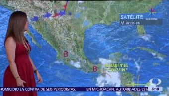 nublados, tormentas fuertes, tormenta, occidente, oriente, México