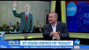 internacionalista, Mauricio Meschoulam, comparecencia de Jeff Sessions, senado, Estados Unidos