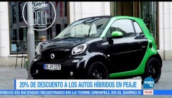 red de autopistas, autopistas urbanas, Ciudad de México, usuarios, vehículos híbridos
