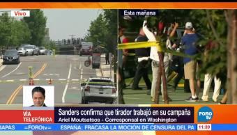 corresponsal en Washington, Ariel Moutsatsos, atacante de Virginia, Bernie Sanders