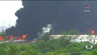 Se incendia, refinería, Pemex, Oaxaca, Antonio Dovalí, Salina Cruz