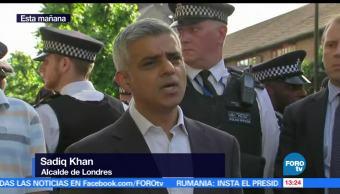 noticias, forotv, Alcalde, Londres acude, zona de incendio