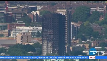 Theresa May, ordena, investigación, incendio, torre Grenfell, Londres