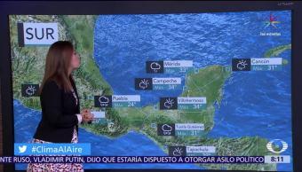 El clima, raquel mendez, Clima Al Aire, Onda tropical